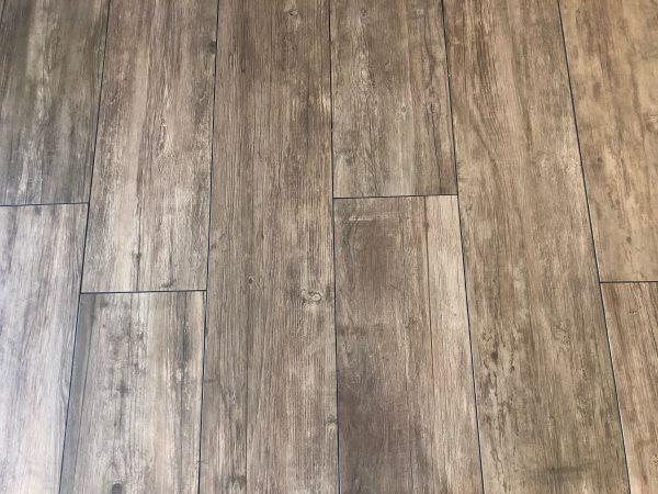 Vloertegel Flaminia komi brown 26,5×180