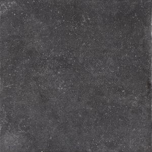 Vloertegel Area north stone black 75x75 - Thuis in Tegels
