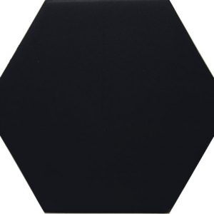 Vloertegel DJ vintage minimalista negro 14x16