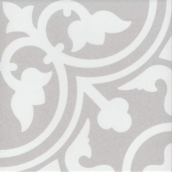 Vloertegel Douglas en Jones vintage flavie gris 20x20