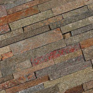 Stone Panels rusty quarzite 15x60 - Thuis in Tegels