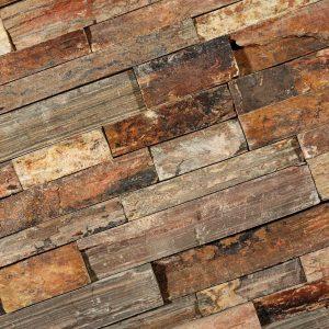 Stone Panels rusty slate 15x60 - Thuis in Tegels