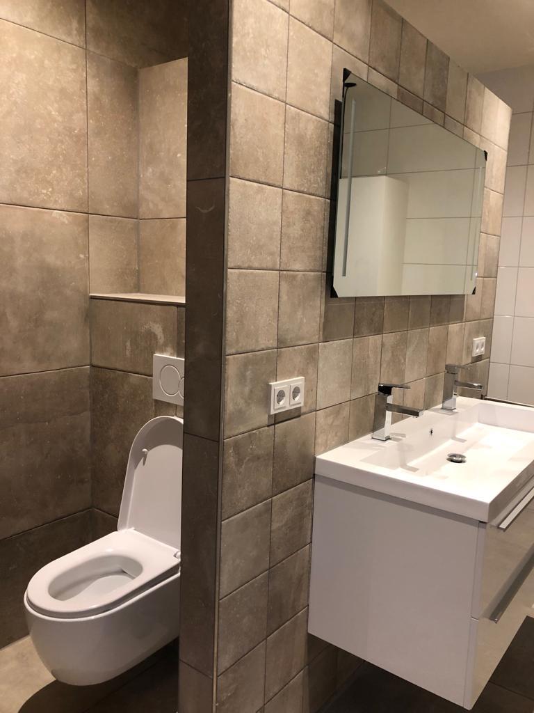 Thuis in Tegels in de badkamer