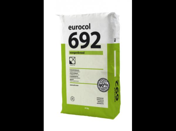 Eurocol 692 VOEGENBREED kleur grijs zak à 25kg