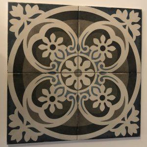 Vloertegel Equipe Art Nouveau music hall 20x20 - Thuis in Tegels