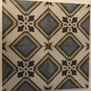 Vloertegel Equipe Art Nouveau turin color 20x20 - Thuis in Tegels