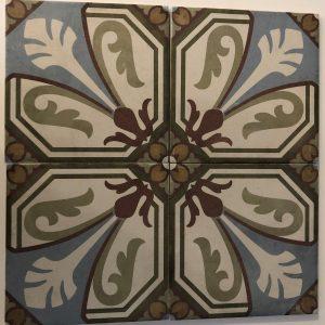 Vloertegel Equipe Art Nouveau viena color 20x20 - Thuis in Tegels