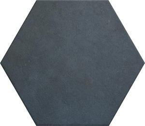 Vloertegel Equipe Heritage indigo hexagon 17