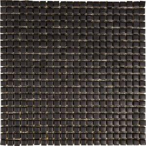 Mozaïek tegels Piet Boon tiny matte black 30x30 - Thuis in Tegels