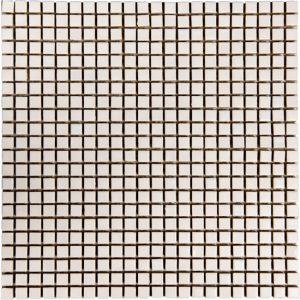 Mozaïek tegels Piet Boon tiny matte white 30x30 - Thuis in Tegels
