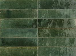 Wandtegel Piet Boon glaze tile green 6x24 - Thuis in Tegels