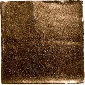 Wandtegel vtwonen Villa Army Dark Gold Metallic 13x13 - Thuis in Tegels