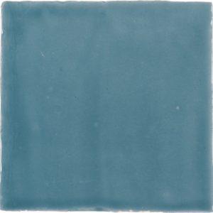 Wandtegel vtwonen Villa Petrol Blue Glans 13x13 - Thuis in Tegels