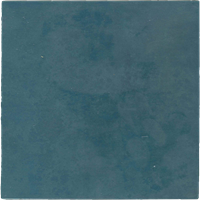 Wandtegel Revoir Paris atelier bleu marine mat 10x10 - Thuis in Tegels