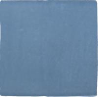 Wandtegel Revoir Paris atelier bleu lumiere glans 10x10 - Thuis in Tegels
