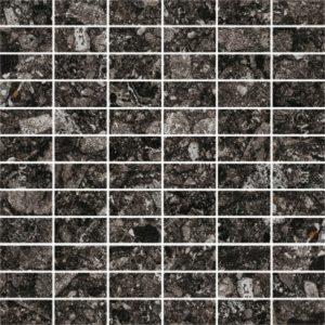 Vloertegel vtwonen Composite Mozaiek Black 30x30 - Thuis in Tegels