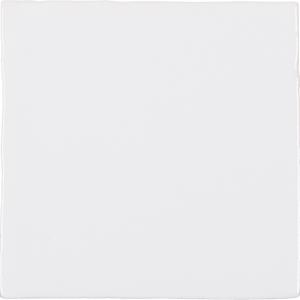 Wandtegel Adobe Villa White Glans 13x13 - Thuis in Tegels