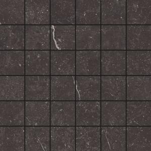Wandtegel Ceramapolo Piazen Coal Mat Mozaiek 30x30 - Thuis in Tegels