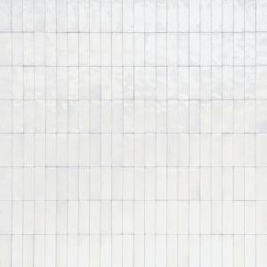 Wandtegel Marazzi Rice M96N Bianco Lux 5x15 - Thuis in Tegels