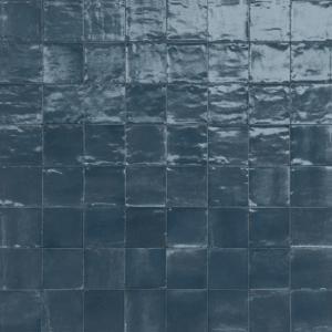 Wandtegel Marazzi Rice M964 Blu Lux 15x15 - Thuis in Tegels