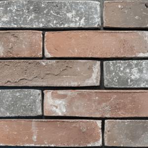 Steenstrips vtwonen Brick Industrial Terra Grey Mele 5x20 - Thuis in Tegels